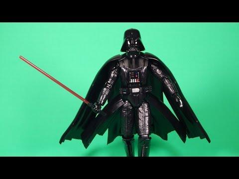 Bandai Star Wars Darth Vader 6-Inch Action Figure Model Build and Review
