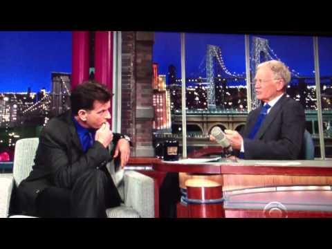 Charlie Sheen Talks Meltdown with David Letterman – Video