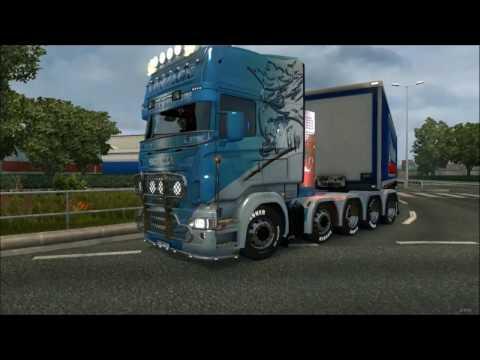 Scania R&S Topline  Griffin Konzack skin 1.26