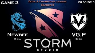 NewBee vs VG.P, game 2