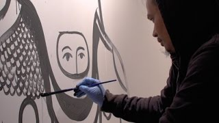 Download Lagu Indonesian Artist Eko Nugroho Creates Site-Specific Mural at Asia Society in New York Mp3
