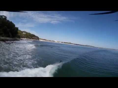 Drone footage of Noosa 15 March 2015