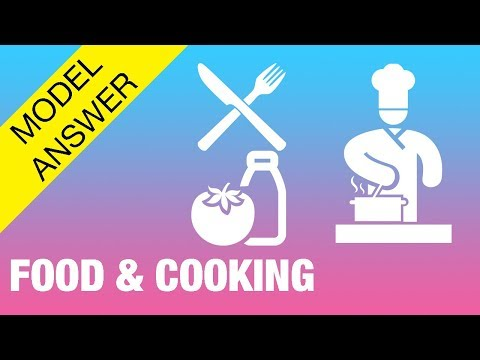 IELTS Speaking Test | FOOD & COOKING - IELTS Sample Speaking Test 8.0+ With Tape Script