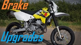 10. SUZUKI DRZ 400 BRAKE UPGRADES & MODIFICATIONS