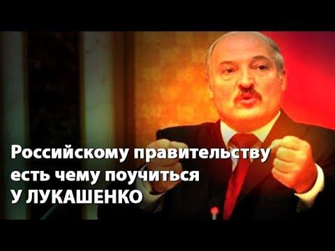 Российскому правительству есть чему поучиться у Лукашенко - DomaVideo.Ru