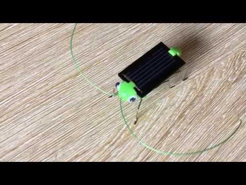 robot cào cào năng lượng mặt trời - đồ chơi hot - Thời lượng: 83 giây.