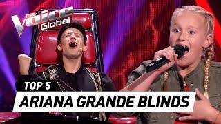 Video BEST ARIANA GRANDE Blind Auditions in The Voice (Kids) [PART 2] MP3, 3GP, MP4, WEBM, AVI, FLV Januari 2019