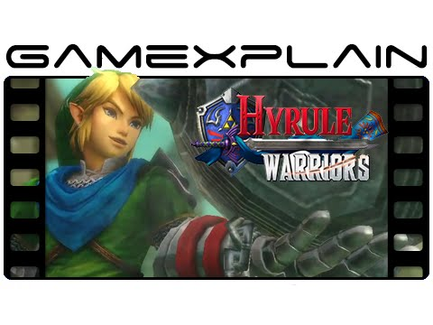 link - http://www.GameXplain.com Check out Link using the Ball & Chain weapon from Twilight Princess in the latest Japanese trailer for Hyrule Warriors! • Follow GameXplain on... ...Facebook: http://ww...