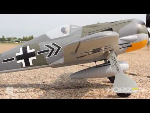 fw - For more information or to purchase this product, please visit the following link: http://www.horizonhobby.com/products/focke-wulf-fw-190a-8-bnf-basic-PKZ625...