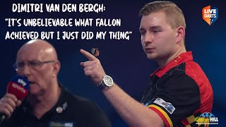 "Dimitri van den Bergh: ""It's unbelievable what Fallon achieved but I just did my thing"""
