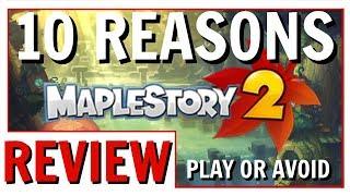 Video 10 Reasons To Play Or Avoid MapleStory 2 | MapleStory 2 Review 2018 MP3, 3GP, MP4, WEBM, AVI, FLV November 2018