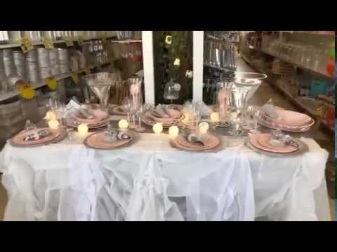 כלים חד פעמיים מעוצבים במבצע לחג
