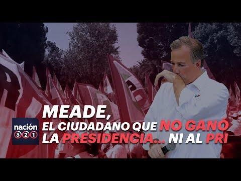Meade, el ciudadano que no ganó la presidencia... ni al PRI