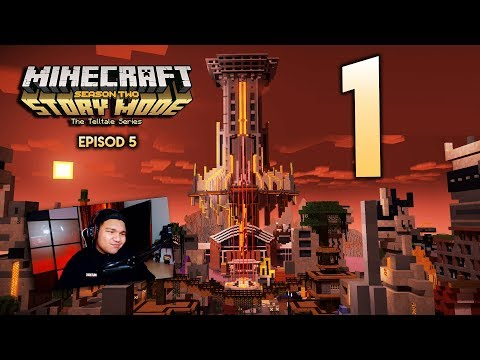 THE END IS NEAR : Minecraft Story Mode Season 2 | Episode 5 ''Part 1'' (видео)