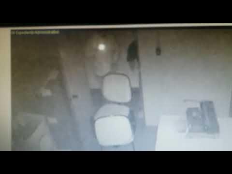 Bandidos dentro da Agencia Bradesco de Peixoto de Azevedo