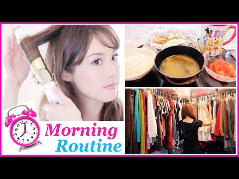 ready - My morning skincare, healthy breakfast, makeup, hair, & fashion! Please Thumbs Up & Comment if you enjoyed this video :D ☆INSTAGRAM : → http://www.instagram.com/melodeemorita ☆FACEBOOK:...
