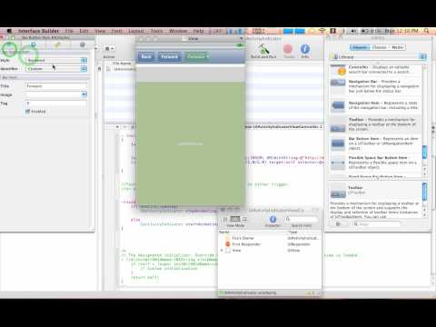 Xcode Tutorial: UIWebView - Using An Activity…