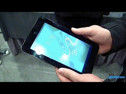 slate - We just got some hands-on time with HP's first major tablet release in quite a while, the HP Slate 7, here at MWC 2013. Watch our video to find out what it's...