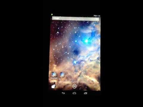Video of Galaxy Nebula Live Wallpaper
