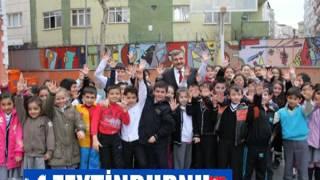 Belediye Başkanı Murat Aydın Ziya Gökalp İlk Öğretim Okulunda Diş Seti Dağıttı