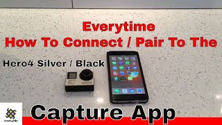 Video How To Connect / Pair to The Capture App with Gopro Hero 4 Silver / Black MP3, 3GP, MP4, WEBM, AVI, FLV Februari 2019