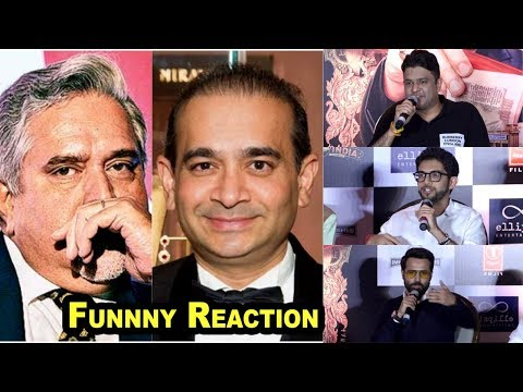 Emraan Hashmi, Bhushan Kumar and Aditya Thackeray Reaction On Nirav Modi & Vijay Mallya