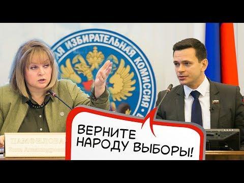 Выступление Яшина в ЦИК. Реакция Памфиловой