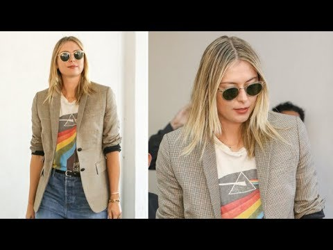 Tennis Pro Maria Sharapova Is A Pink Floyd Fan!