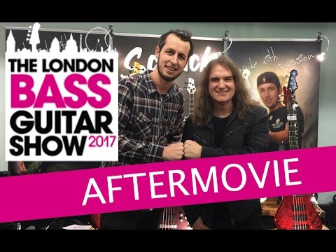 London Bass Guitar Show 2017 / Schack Aftermovie