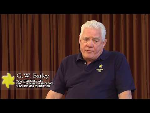 G.W. Bailey on why he is involved in Sunshine Kids