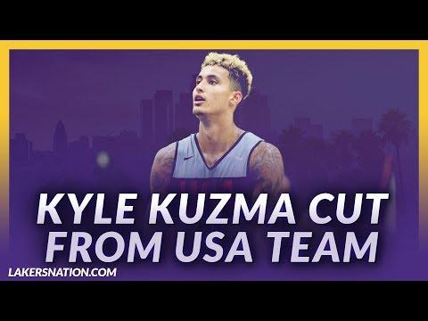 Video: Lakers News Feed: Kyle Kuzma Cut From USA Basketball Team