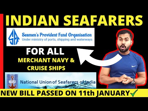 GOOD NEWS for Indian Seafarers  Now Will Get Pension, Provident Fund & Gratuity