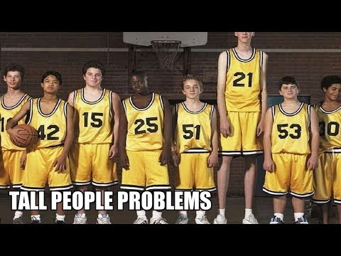 Funny quotes - Tall People Problems
