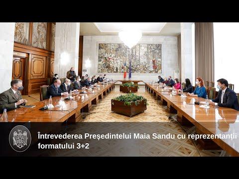 """Președintele Maia Sandu: """"Soluționarea conflictului transnistrean trebuie să aibă loc pe cale pașnică, prin dialog"""""""