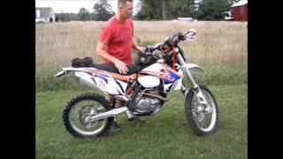 9. 2012 KTM 450 XC-W overview and thoughts