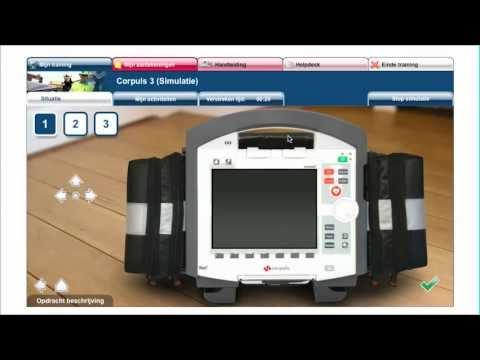 Дефибриллятор - монитор CORPULS 3. Видеообучение