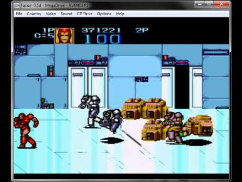 captain america and the avengers megadrive rom