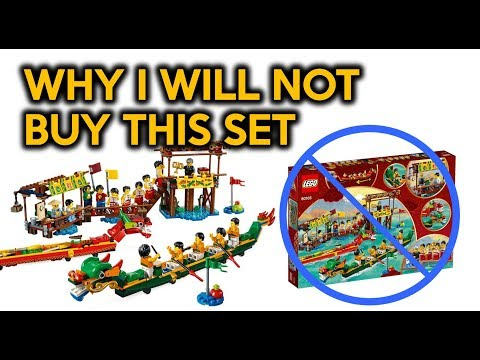 Why I Will Not Buy the LEGO Dragon Boat Race Set (80103)