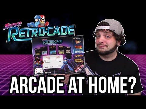 Super Retro-Cade: Arcade, NES, and SNES Games on Plug-n-Play | RGT 85 (видео)