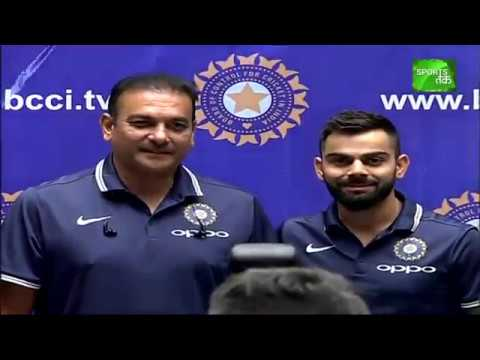 Video Virat & Shastri Speak Before Leaving For South Africa Tour download in MP3, 3GP, MP4, WEBM, AVI, FLV January 2017