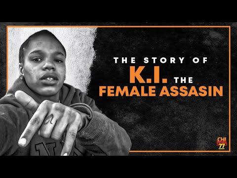 """The Story Of The Female Assassin Gakirah """"K.I."""" Barnes"""