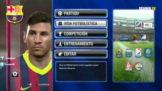 Pro Evolution Soccer 2014 - Full Game - Revisando El Menu Completo ¿Qué Desean Ver?