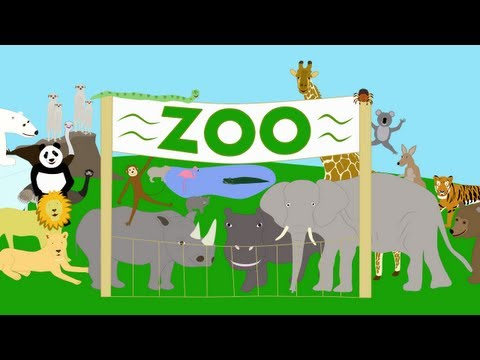 zoo - A song for children about some of the animals that you can see at the zoo. This song was written and performed by A.J. Jenkins Video by KidsTV123 Copyright 2...