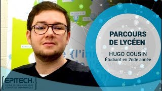 Parcours de Lycéen - Hugo Cousin