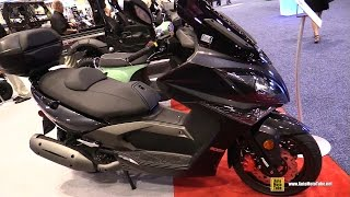 2. 2016 Kymco Xciting 500Ri ABS Scooter - Walkaround - 2015 AIMExpo Orlando