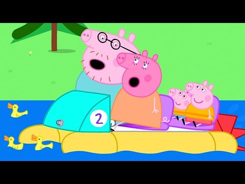 Peppa Pig Official Channel ⛵️ Going Boating with Peppa Pig | Family Day Special