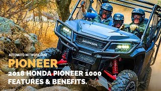 9. 2018 Honda Pioneer 1000-5 Limited Edition | Features.