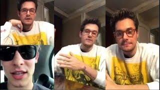 Video John Mayer talks with Shawn Mendes | Instagram Live Stream | 3 December 2017 MP3, 3GP, MP4, WEBM, AVI, FLV Oktober 2018
