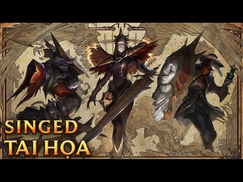 Singed Tai Họa - Black Scourge Singed