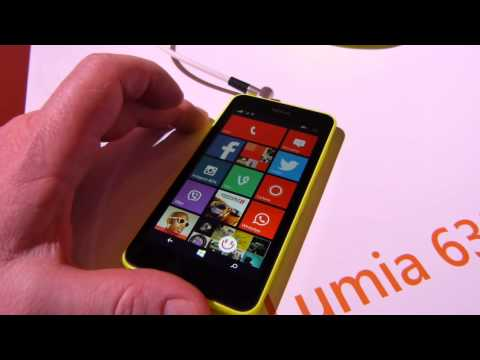Nokia Lumia 635 hands-on
